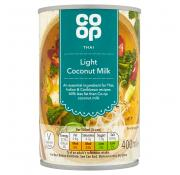 Co Op Light Coconut Milk